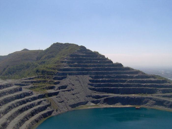 Ex cava mineraria di balangero