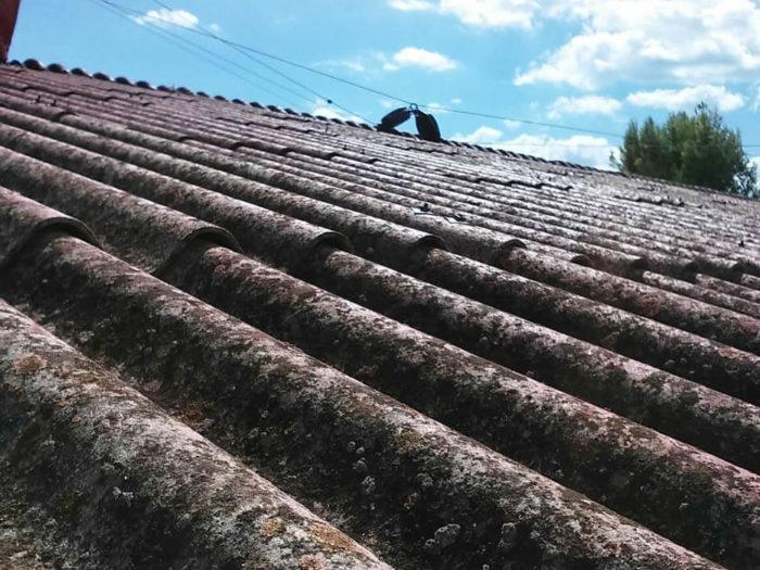 rimozione eternit tetto